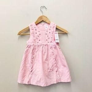 NWT Gymboree Girls Toddler 3T Pink Easter Dress